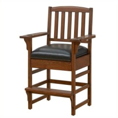 Vintage Wooden Chairs Pvc Lounge American Heritage Billiard King Chair In Oak Vinyl Leather 100610vo