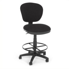Drafting Office Chair Adult Beanbag Lite Use Computer With Kit In Black
