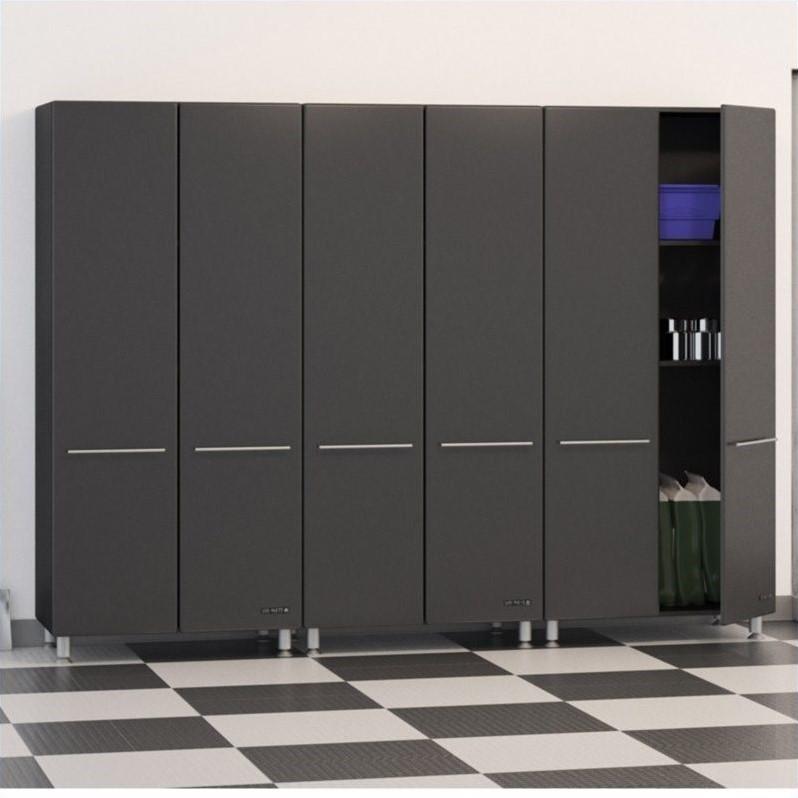 UltiMATE Garage 3 Piece Garage Cabinet Kit in Graphite