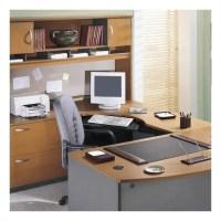Computer Desk Workstation Table 4-Piece U-Shape Right-Hand ...