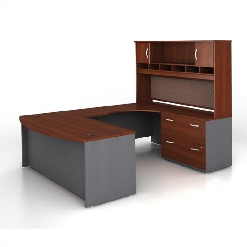 Bush Business Series C 4Piece UShape RH Computer Desk
