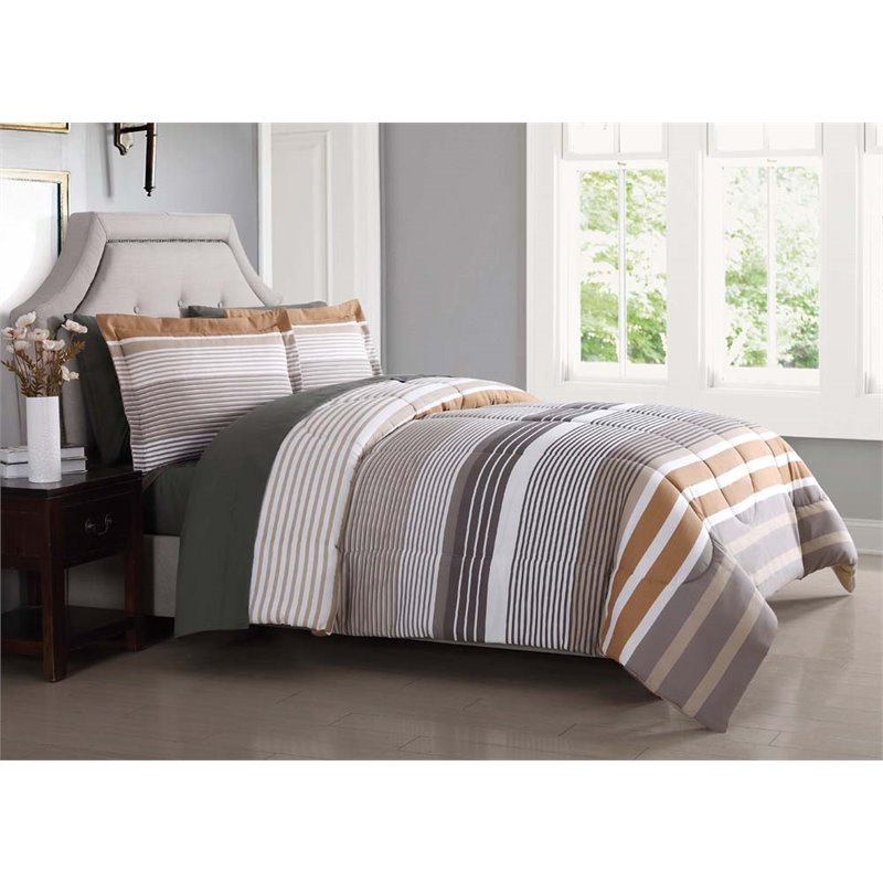 PEM America London Fog Abbington 7 Piece Queen Bed Sheet