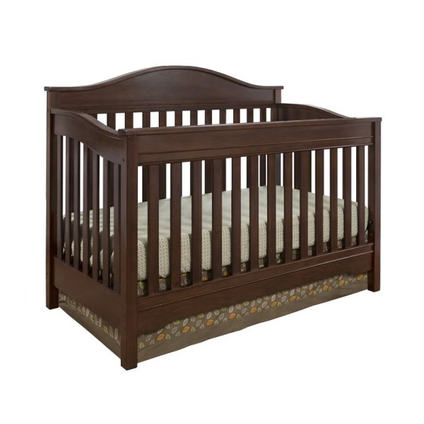 Eddie Bauer Langley Crib In Walnut