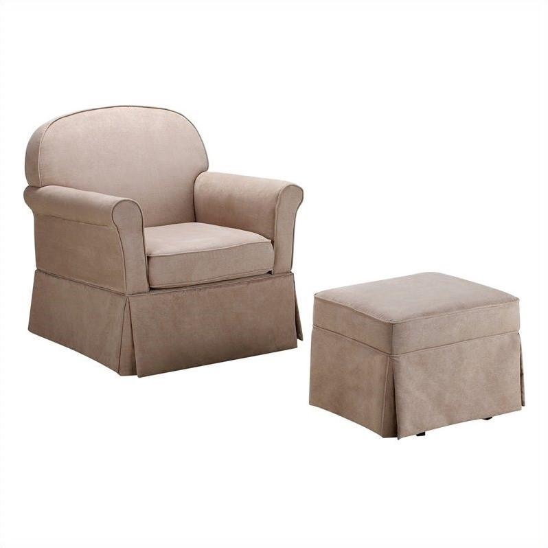 swivel rocking patio chairs slipcover for chair glider and ottoman set - microfiber wm6009sgo-m
