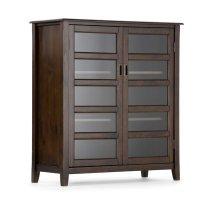Storage Cabinet in Dark Espresso Brown - 3AXCBUR-004