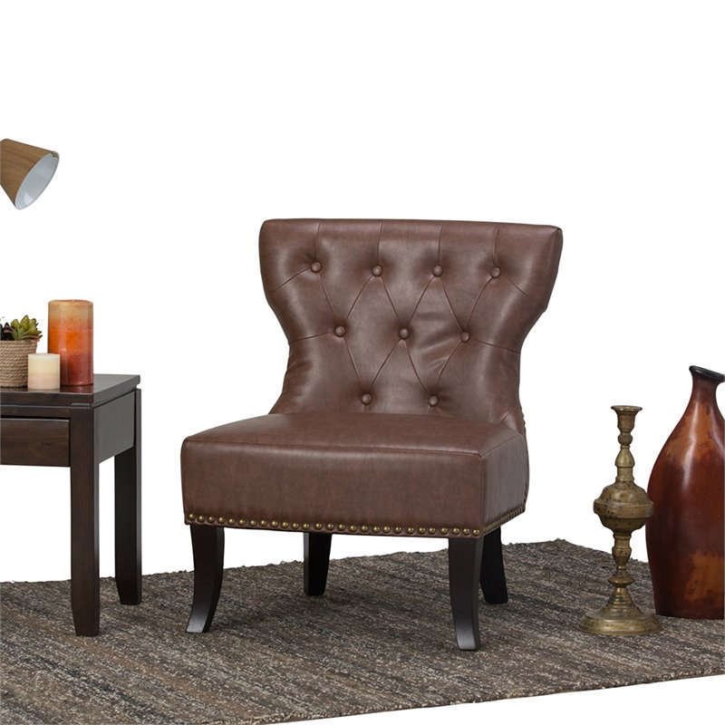 Accent Chair in Rustic Brown  AXCKITS7305RB