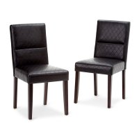 Dining Chair in Black (Set of 2) - AXCDCHR-005-BL