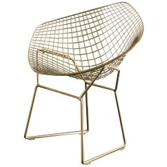 Steel Chair Gold Vintage Mcguire Chairs Acme Rianne Metal Dining In 71969