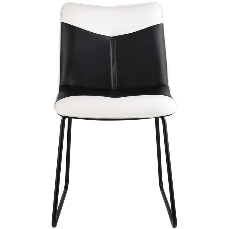ACME Narcissus Faux Leather Accent Desk Chair in Black and