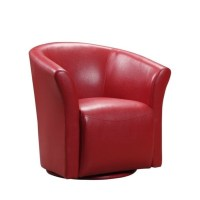 Picket House Furnishings Rocket Swivel Chair in Red ...