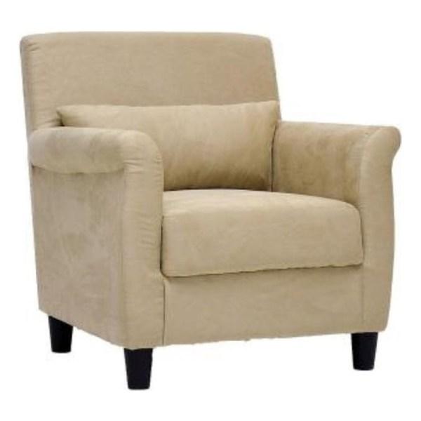 Marquis Fabric Club Arm Chair in Tan - LCY-31-CC-4