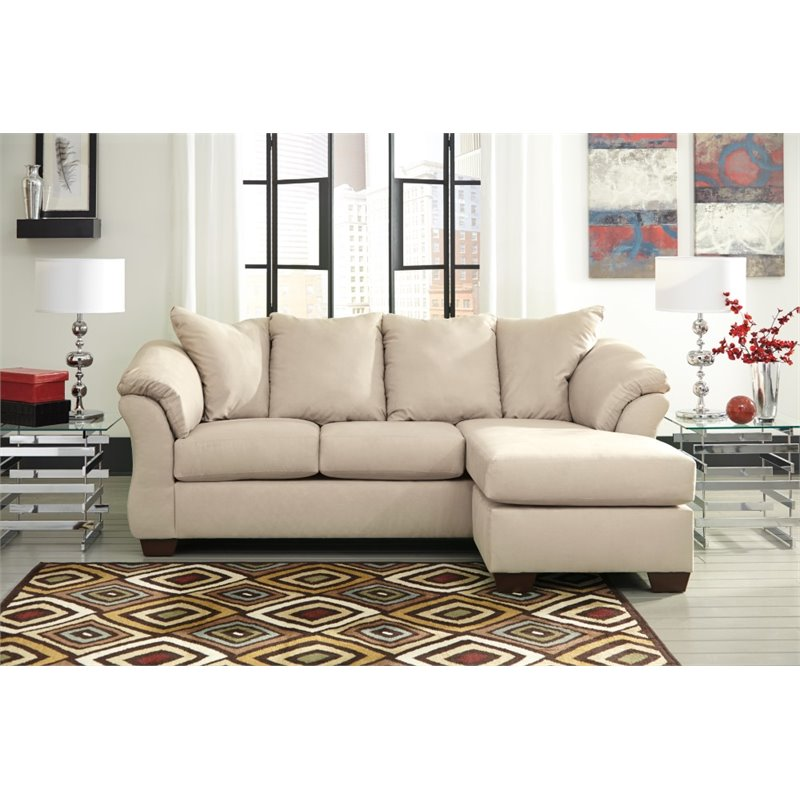 darcy sofa chaise ashley furniture bed uk in stone - 7500018
