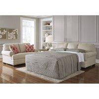 Ashley Sansimeon Queen Sleeper Sofa Bed in Stone - 7990439