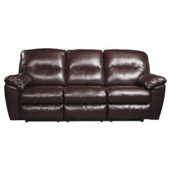 Durablend Sofa Compact Double Bed Uk Ashley Kilzer Reclining Faux Leather In Mahogany Ebay Image Is Loading