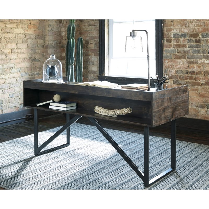 Ashley Starmore Writing Desk in Brown  H63327