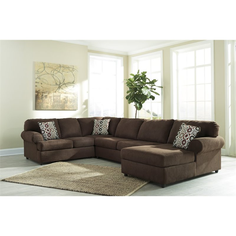 sofas and sectionals com reviews regency linen tufted sofa ashley jayceon 3 piece left facing sectional in java ...