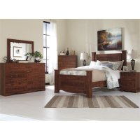 Ashley Brittberg 5 Piece Queen Poster Bedroom Set in ...