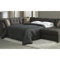 Ashley Furniture Delta City Sleeper Sofa in Steel - 1970071