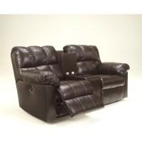 Ashley Furniture Kennard Leather Power Reclining Loveseat ...