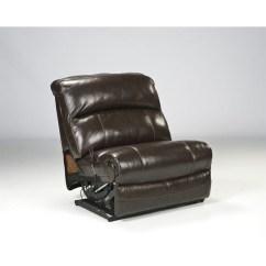 2 Piece Sectional Sofa Chaise Grey Leather Queen Sleeper Ashley Furniture Damacio 5 Reclining ...