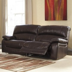 Ashley Leather Sofas And Loveseats Corner For Cheap Furniture Damacio Power Reclining Sofa In ...