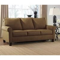Ashley Zeth Fabric Full Size Sleeper Sofa in Basil - 2710336