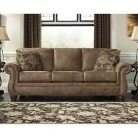 Ashley Larkinhurst Faux Leather Sofa in Earth - 3190138