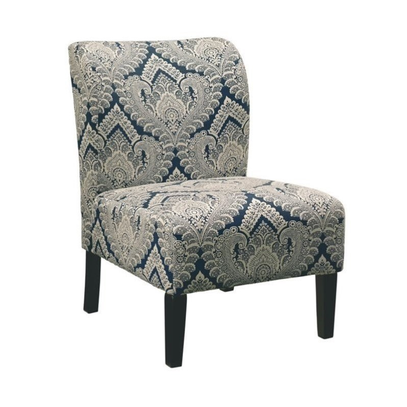 Ashley Honnally Fabric Accent Chair in Sapphire  5330360