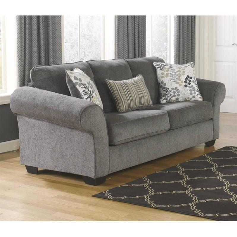 queen sofa chaise sleeper kmart bed nz ashley makonnen chenille size in ...