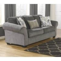 Ashley Makonnen Chenille Queen Size Sleeper Sofa in ...