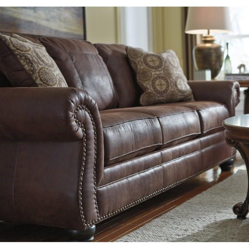 Faux Leather Sofa Mainstays Faux Leather Sofa Black  TheSofa