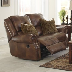 Ashley Furniture Sofa Sales Light Rattan Set Walworth Leather Power Reclining Loveseat In Auburn ...