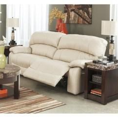 Power Reclining Leather Sofa Sets Pearson Sleeper Ashley Damacio 2 Seat In ...