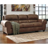 Ashley Burnsville Faux Leather Queen Size Sleeper Sofa in ...