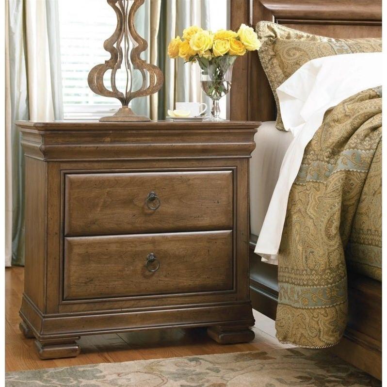 Universal Furniture New Lou Nightstand in Cognac  071355