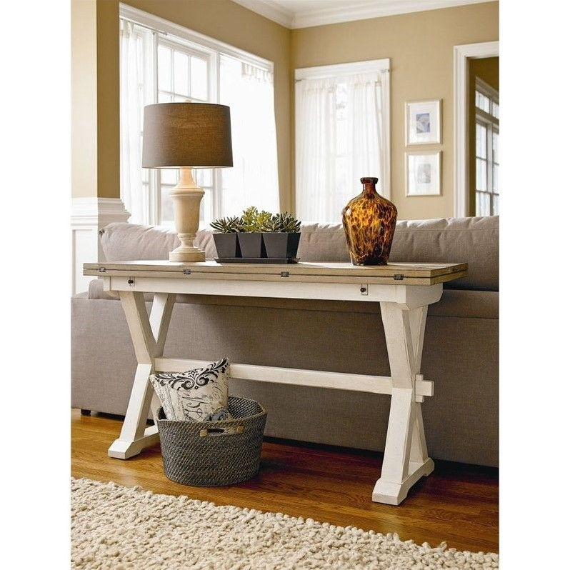 Universal Furniture Great Rooms Console Table in Terrace