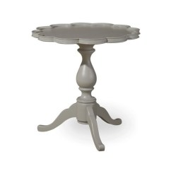 Paula Deen Dogwood Dining Chairs Office Chair Exercises Home Pie Crust End Table In Cobblestone - 599815