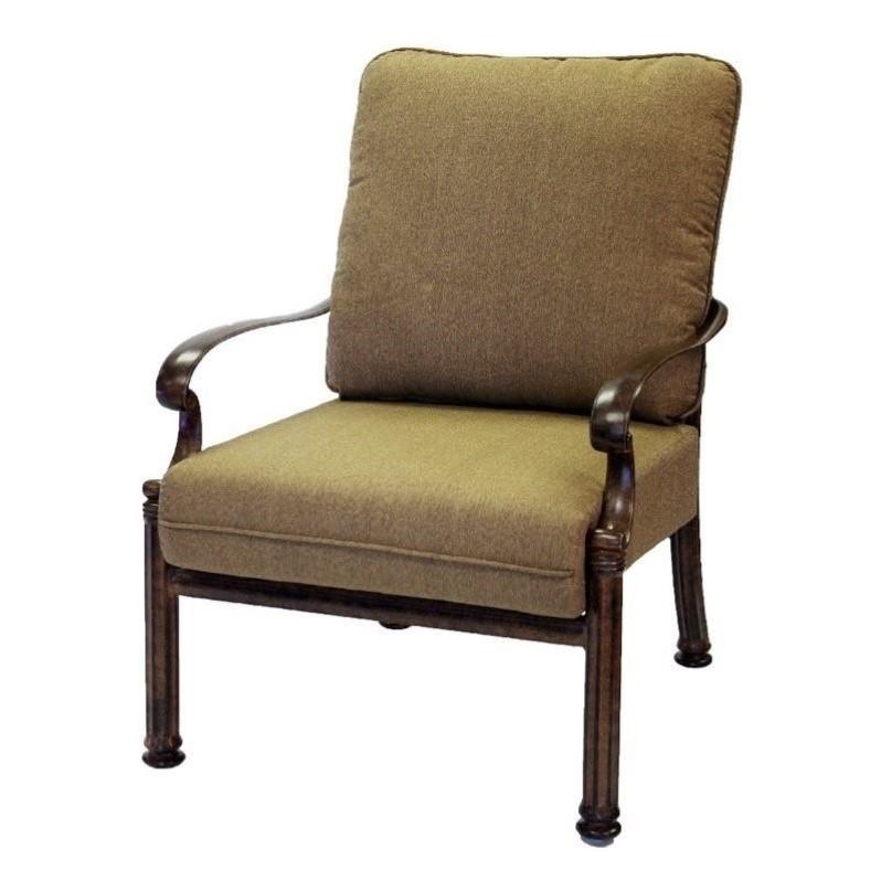 patio club chair lumbar support chairs darlee santa barbara with cushion set of 2