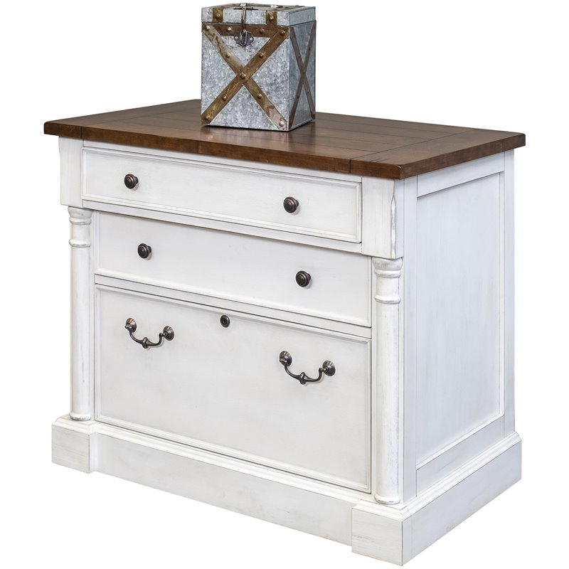 Martin Furniture Durham 3 Drawer Lateral File Cabinet in