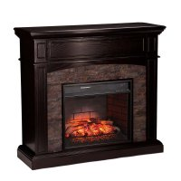 Southern Enterprises Grantham Infrared Media Fireplace in ...