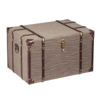Southern Enterprises Devane Linen Trunk File Cabinet in ...