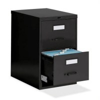 """Global Office 25"""" Legal Size Low Profile 2 Drawer Vertical ..."""