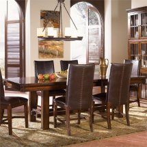 America Mesa Rustica Extendable Dining Table In Mahogany