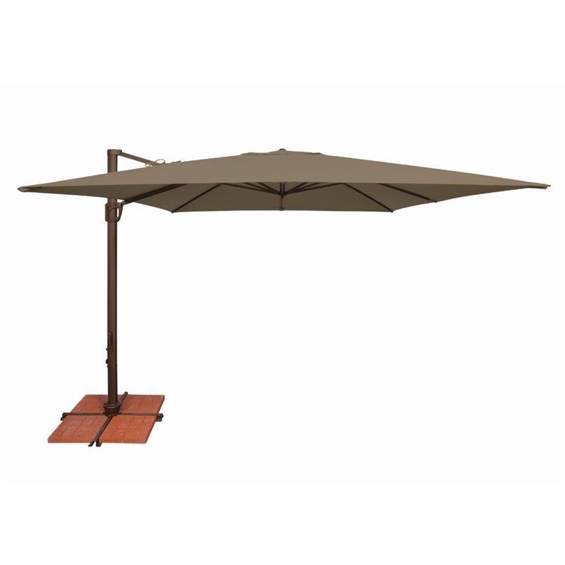 simplyshade bali patio umbrella in taupe