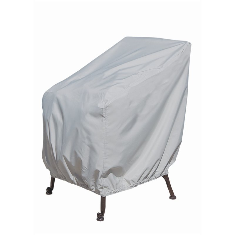 SimplyShade Patio Lounge Chair Cover in Gray  SSCPL211