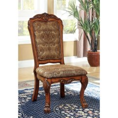 Antique Oak Dining Chairs Bedroom And Table Furniture Of America Douglas Chair In Set 2