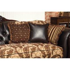 Material And Leather Sofa Zanotta Greg Furniture Of America Mora Fabric In Espresso Idf