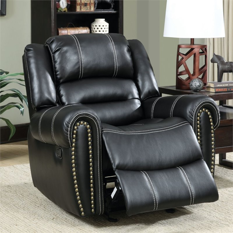 3pc recliner sofa set loveseat sleeper crate and barrel furniture of america stinson 2 piece leatherette reclining ...