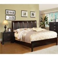 Furniture of America Cruzina 2 Piece King Bedroom Set in ...