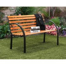 Furniture Of America Jordy Traditional Patio Bench In